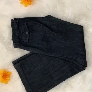 New York & company   flare trouser jeans  size 2